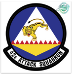 42d Attack Squadron - Zap - Reaper Patches
