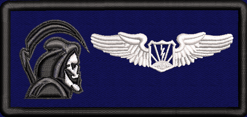 42d Attack Squadron RPA Pilot- Friday Name Tag - Reaper Patches