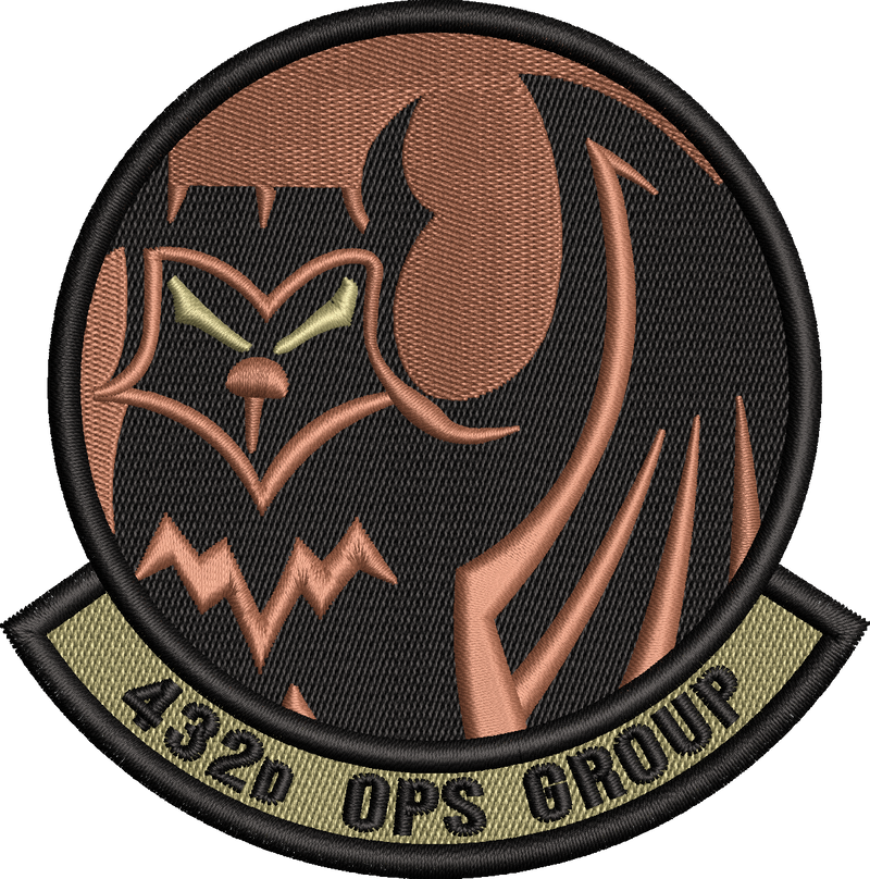 432d Operations Group Friday Patch - OCP