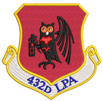 432d LPA - Reaper Patches