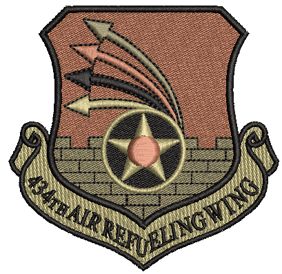 434th Air Refueling Wing - OCP Patach - Reaper Patches