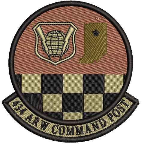 434th Air Refueling Wing Command Post - OCP Patch
