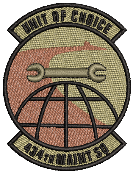 "434th Maintenance Squadron ""Unit of Choice"" - OCP"
