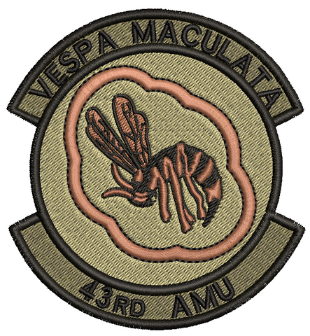 43rd Aircraft Maintenance Unit (AMU) OCP patch - Unofficial - Reaper Patches