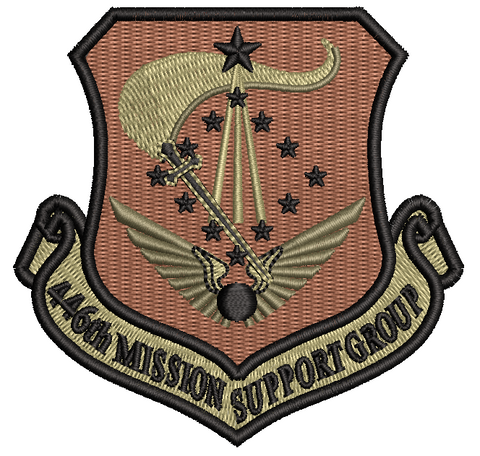 446th Mission Support Group - Reaper Patches