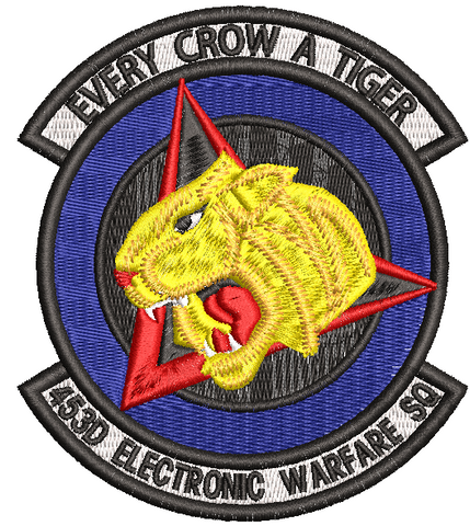 453d Electronic Warfare Sq Patch - Reaper Patches