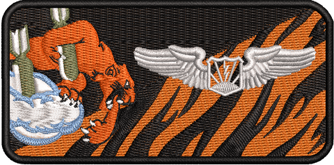 489th Attack Squadron Friday Name Tag RPA Pilot - Reaper Patches
