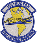 489th Attack Squadron -  Instructor - Reaper Patches
