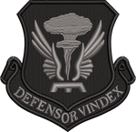 509 Bomb Wing Black Patch