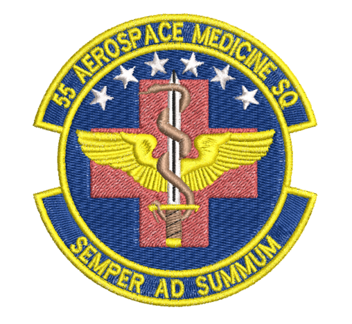 55 Aerospace Medicine SQ - Reaper Patches