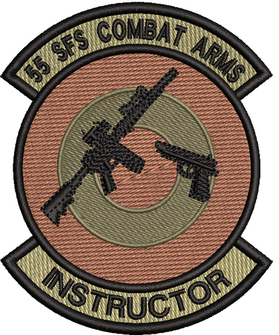 55 SFS Combat Arms Instructor Patch OCP