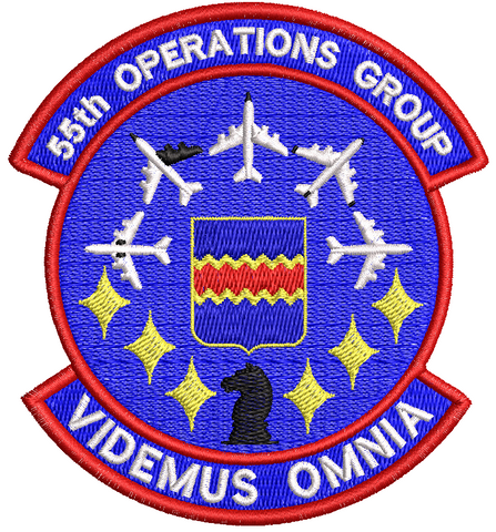55th Operations Group - Reaper Patches