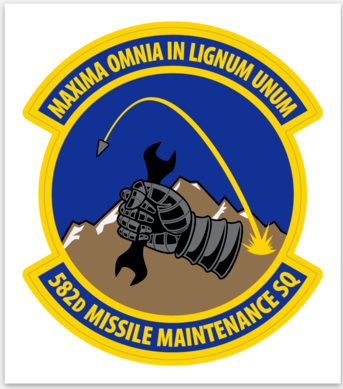 582d Missile Maintenance SQ - Sticker