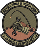 582d Missiles Maintenance Sq - OCP Patch
