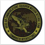 603D Air Communications Squadron - OCP - Sticker