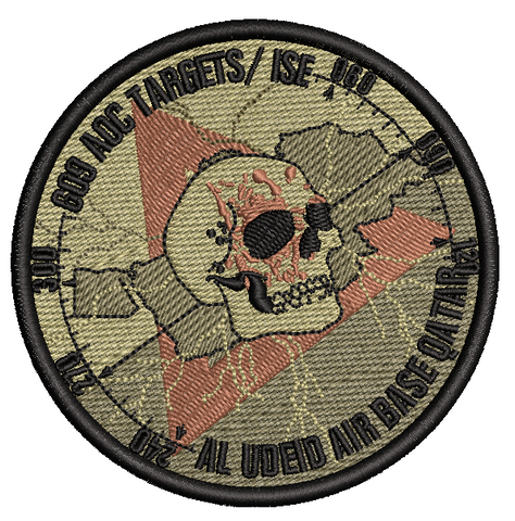 609 AOC TARGETS/ISE - OCP - Reaper Patches
