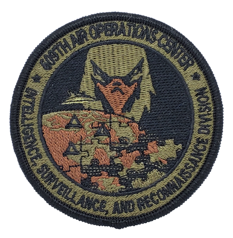 609th Air Operations Center ISRD - OCP - Reaper Patches