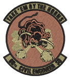60th Civil Engineer Squadron-OCP (Unofficial) - Reaper Patches