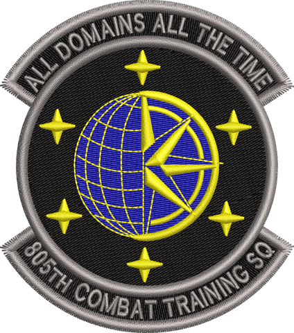 805th Combat Training Squadron - Patch