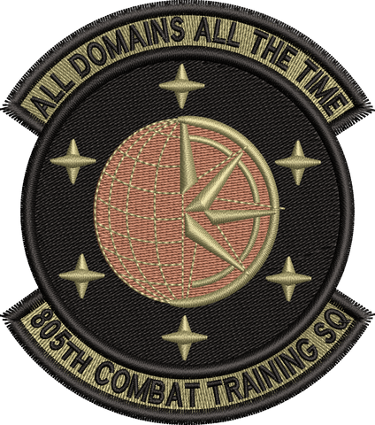 805th Combat Training Squadron - OCP Patch