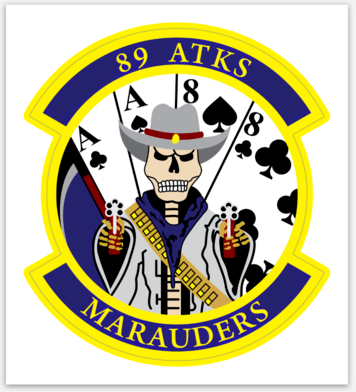89 ATKS Marauders - Sticker