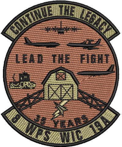 "8 WPS WIC 19A - ""Continue the Legacy"" - OCP - Reaper Patches"