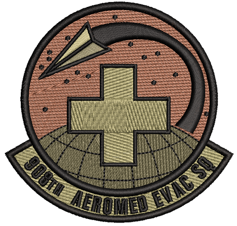 908th Aeromedical Evacuation Squadron - OCP (unofficial) - Reaper Patches