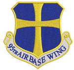 95th Air Base Wing - Reaper Patches