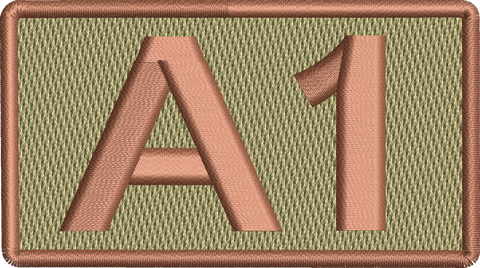 """A1"" - Left Shoulder Patch"