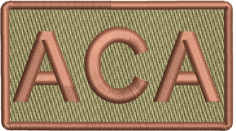 """ACA""- Left Shoulder Patch"