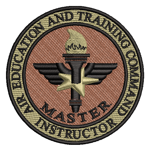 Air Education and Training Command (AETC) Master Instructor - OCP