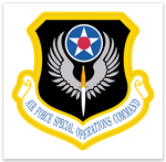 Air Force Special Operations Command (AFSOC) Zap - Reaper Patches