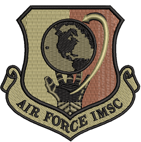 Air Force Installation and Mission Support Center (IMSC) patch OCP - Reaper Patches