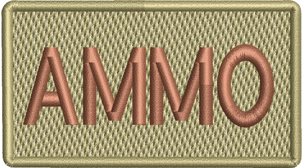 AMMO- Left Shoulder Patch