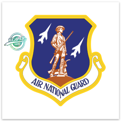 Air National Guard- Sticker (ZAP)