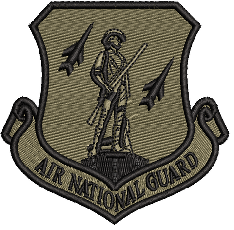 Air National Guard Patch - Subdued