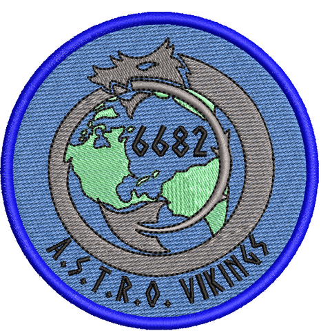 A.S.T.R.O Vikings - Reaper Patches