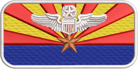 Arizona ANG Flag Name tags