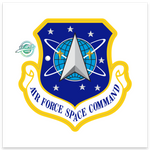 Air Force Space Command - Sticker (ZAP)