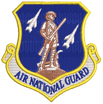 Air National Guard Patch - Reaper Patches