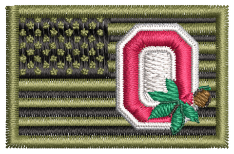 United States Flag w/ Buckeye & Block O OCP - Reaper Patches