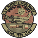 US Defense Attache Office (GHANA, TOGO, BENIN) - OCP (Unofficial) - Reaper Patches