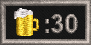 It's Beer Thirty! - Reaper Patches