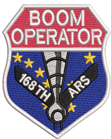 Alaska Boom Operator - White - Reaper Patches