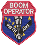 Alaska Boom Operator - Red - Reaper Patches