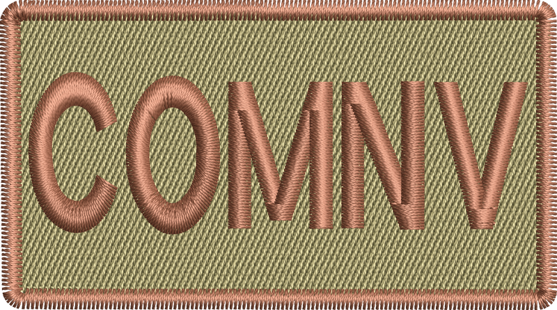 """COMNV"" - Left Shoulder Patch"