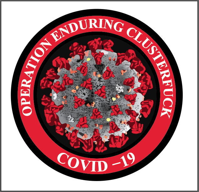 Operation Enduring Clusterfuck- RED- STICKER