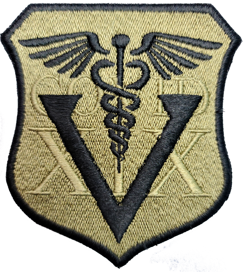 "COVID 19 ""V"" Vaccinated Patches"