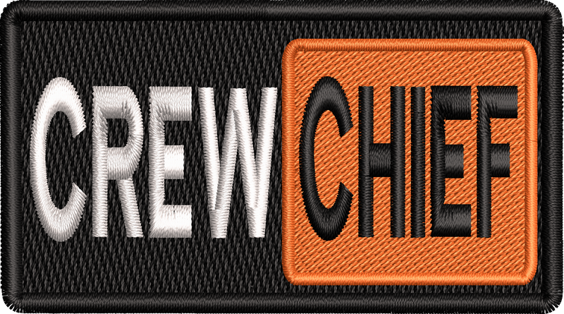 Crew Chief Hub - Left Shoulder Patch