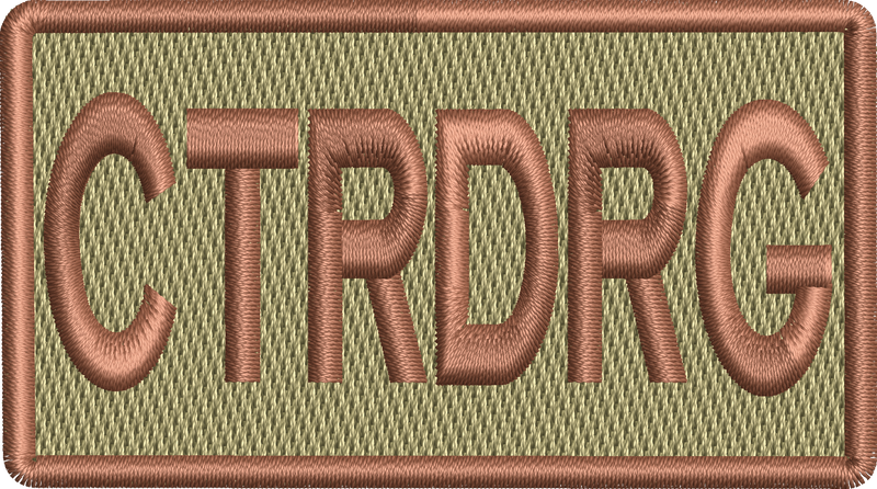 """CTRDRG"" Left Shoulder Patch"